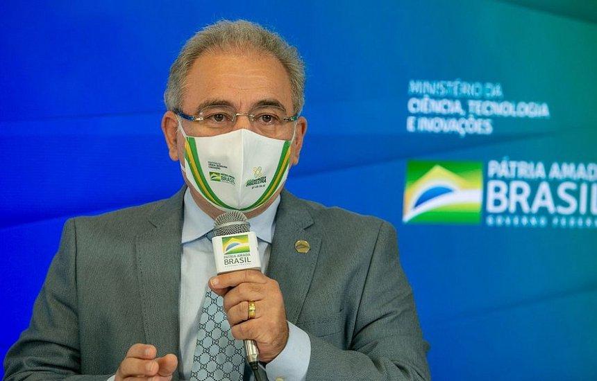 [Ministro da Saúde anuncia aquisição de 4,5 milhões de kits para intubação]