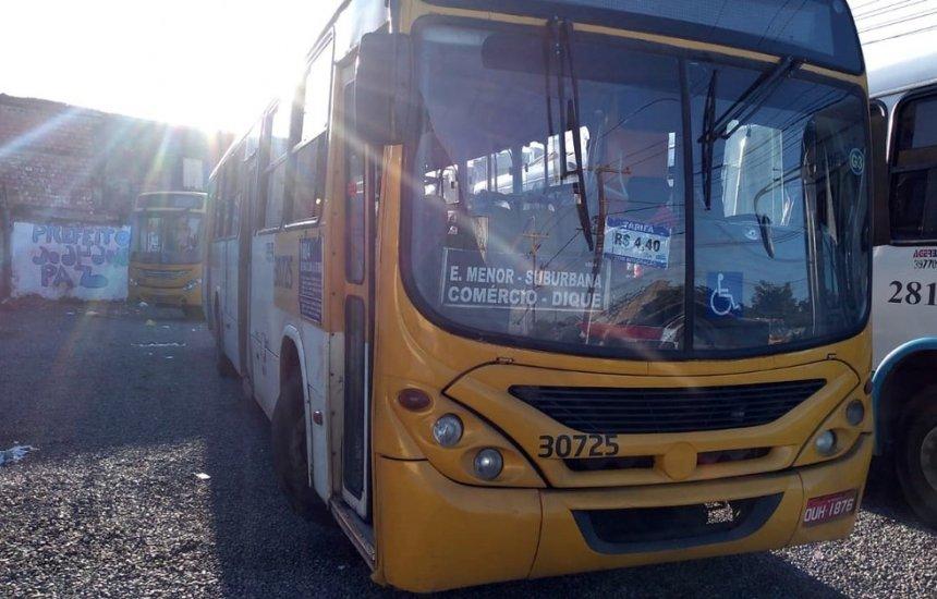 [Ônibus são assaltados em Salvador na manhã desta terça (11)]