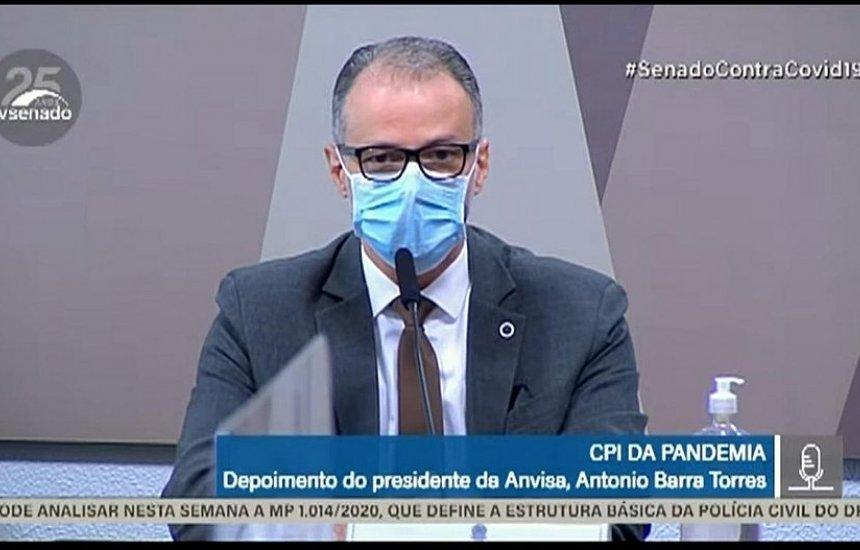 [Barra Torres confirma reunião no Planalto para discutir mudança na bula da cloroquina]
