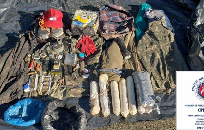 [Polícia localiza explosivos e carros usados por grupo que atacou agência em Barra de Pojuca]