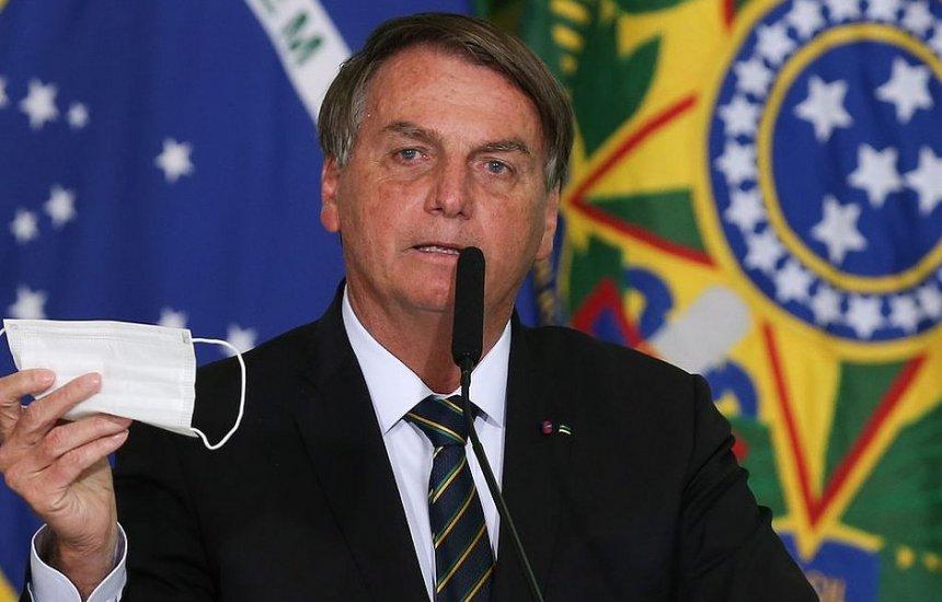 [Bolsonaro diz que vetará 'passaporte de imunidade' se projeto for aprovado]