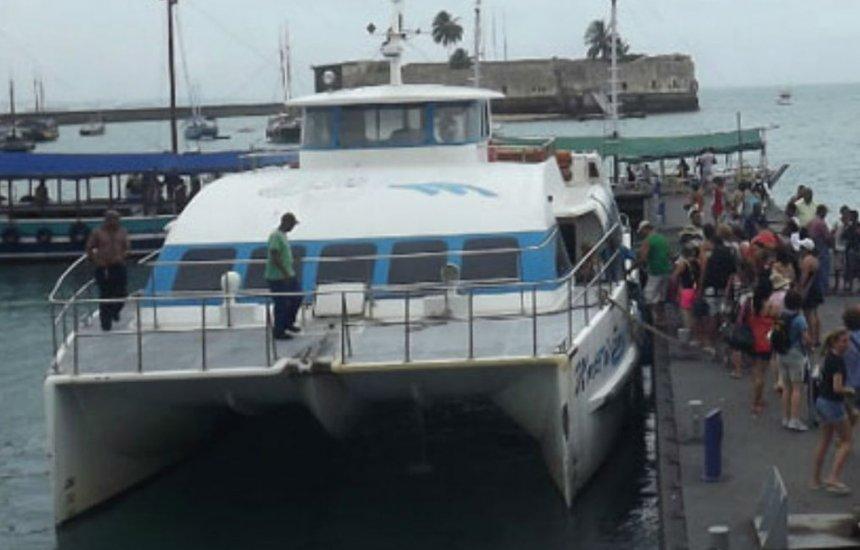 [Após dois dias operando com conexão, travessia entre Salvador e Morro de SP retoma viagens diretas]