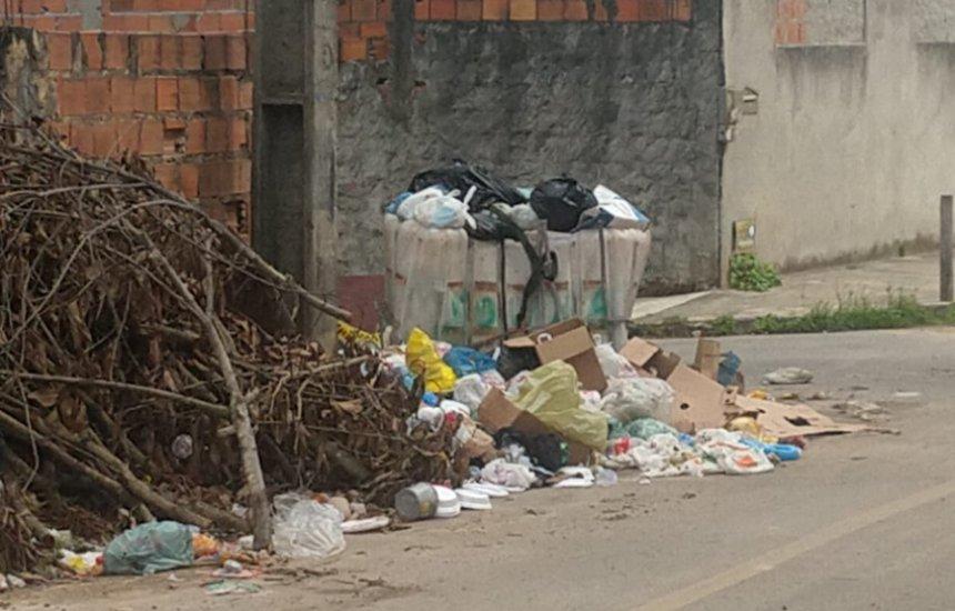 [Seu Bairro no CN: moradora pede coleta de lixo no Parque das Mangabas]