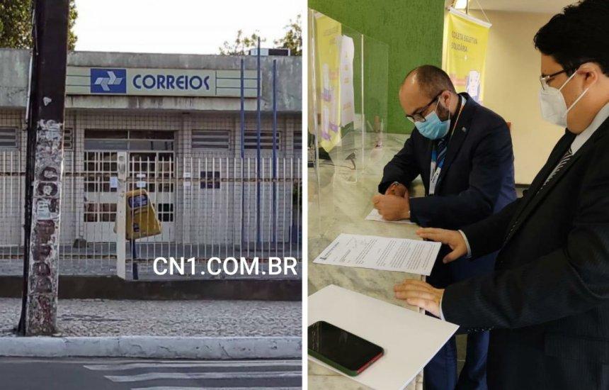 [Em Brasília, vereador Tagner solicita nova sede para agência dos Correios em Camaçari]