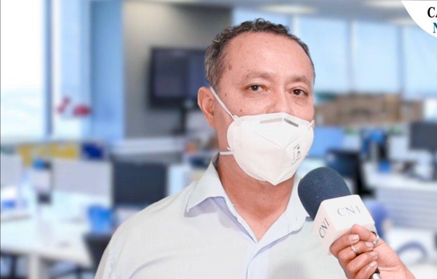 [Secretário de saúde fala sobre situação da pandemia da covid-19 em Camaçari]