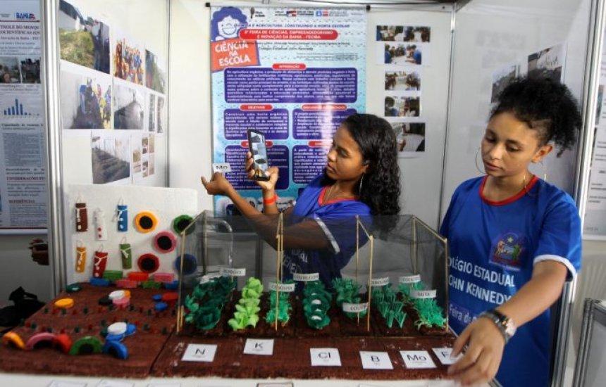 [Estudantes da rede estadual têm até 2 de julho para inscrever projetos para a 9ª edição da Feciba]