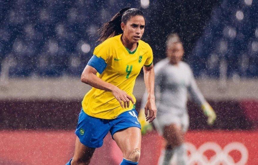 [Brasil x Canadá: 'O jogo continua. Sempre', diz Rafaelle sobre eliminação em mensagem à família]