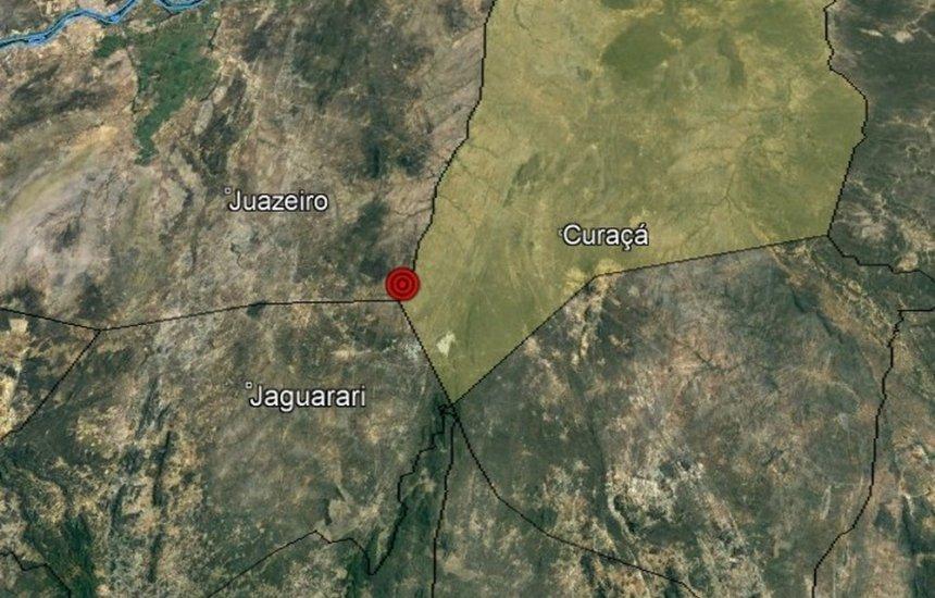 [Tremor de terra é registrado no norte da Bahia]