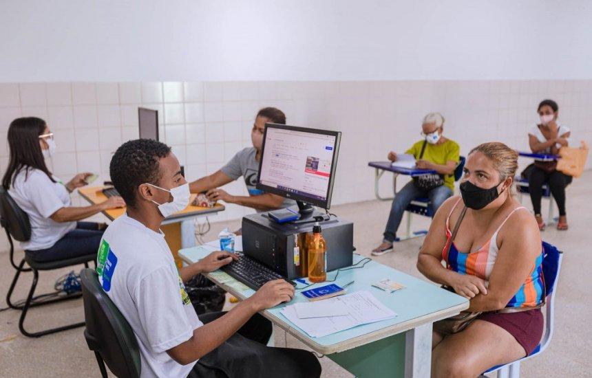 [Projeto Bolsa Família Itinerante chega ao bairro do Nova Vitória e Areias]