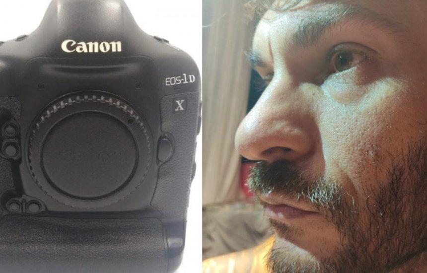 [Fotógrafo do Correio tem máquina roubada em serviço e pede ajuda para localizar equipamento: