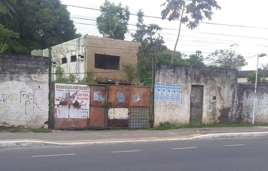 [Polícia Militar averigua denúncia sobre imóvel abandonado na Radial A]