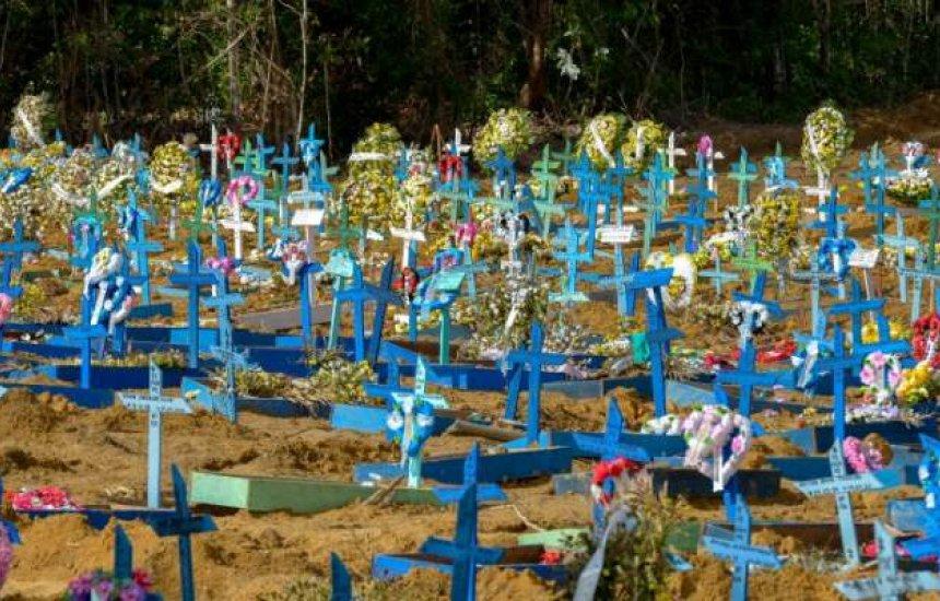 [Brasil registra menor número de mortes por Covid em 24 horas desde novembro]