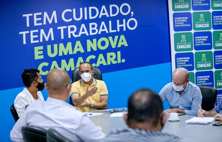 [Campanha de Natal é apresentada durante reunião entre Elinaldo e representantes da CDL]