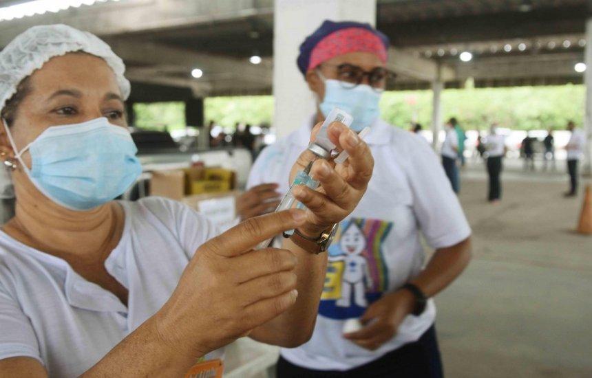 [Bahia vacinou 75,2% da população acima de 12 anos com pelo menos uma dose da vacina]