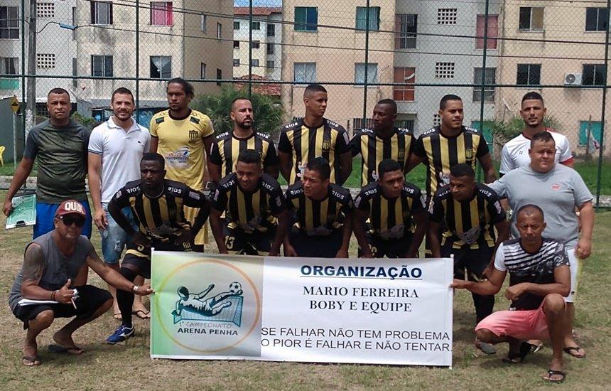 [Futebol: primeiro campeonato da Arena Penha é realizado em Camaçari]