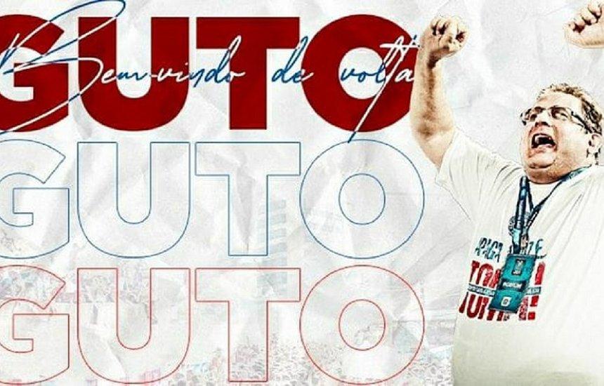 [É oficial: Bahia anuncia Guto Ferreira como novo técnico]