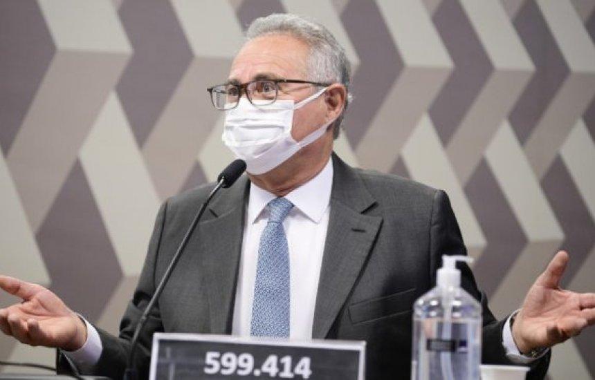 [Relatório da CPI da Covid deve atribuir pelo menos 11 crimes a Bolsonaro, diz Renan Calheiros]