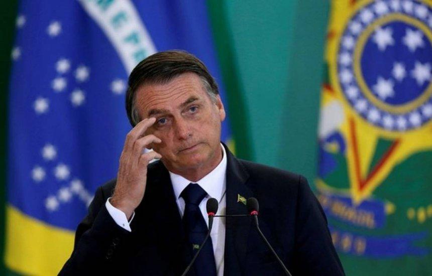 """[Questionado sobre 600 mil mortes por Covid, Bolsonaro diz: """"Não vim me aborrecer""""]"""