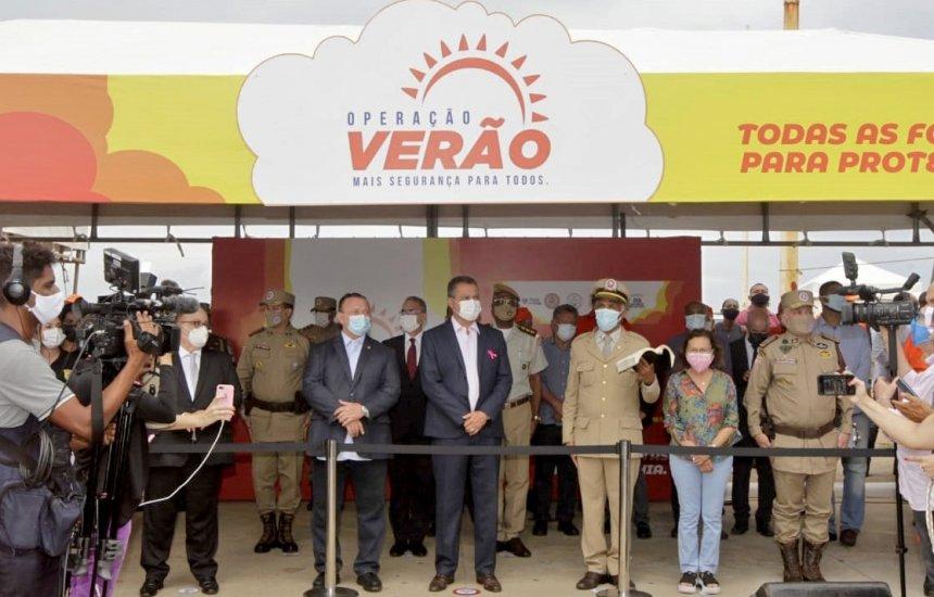 [Com o objetivo de intensificar o policiamento na Bahia, governador lança Operação Verão]