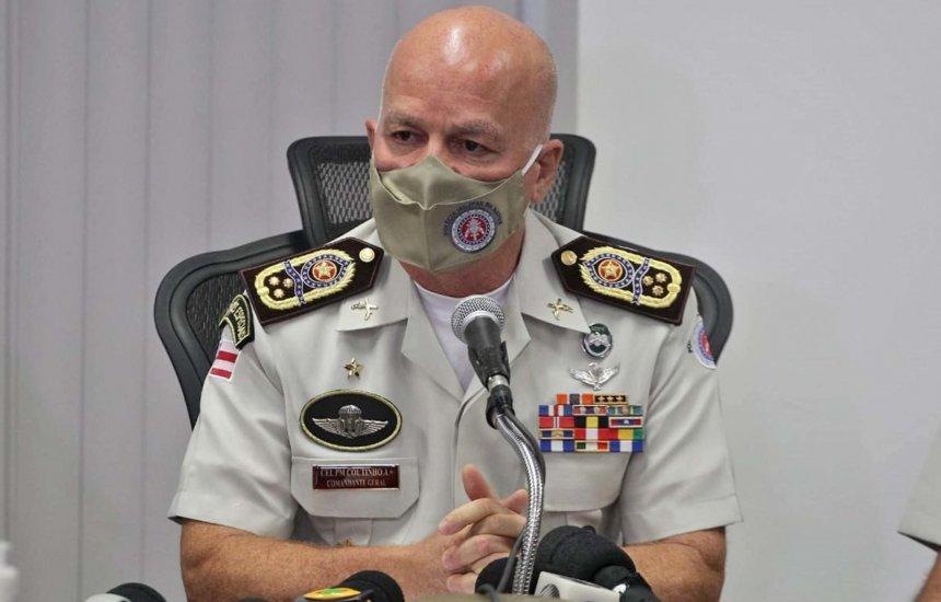 ['Atuar em qualquer local', diz comandante geral da PM após governador anunciar proibição de festas 'paredões' na Bahia]