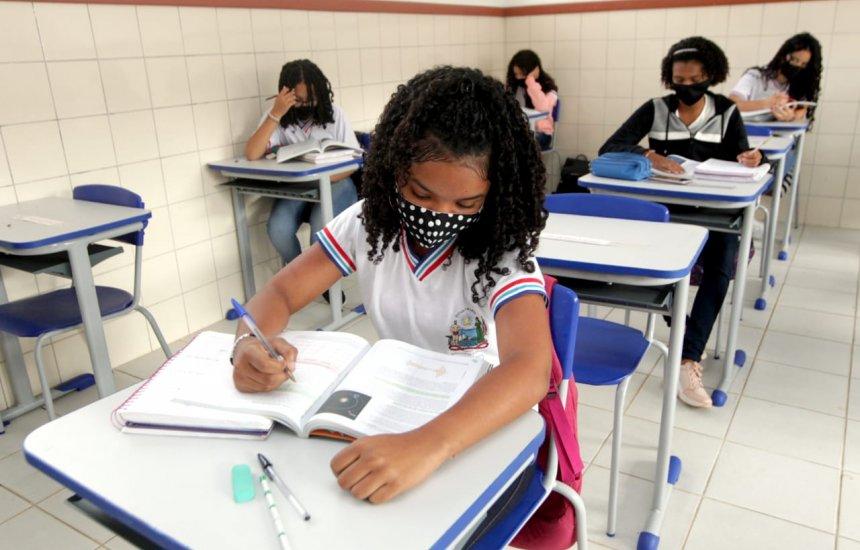 [Aulas 100% presenciais na rede estadual de ensino começam na segunda-feira (18)]