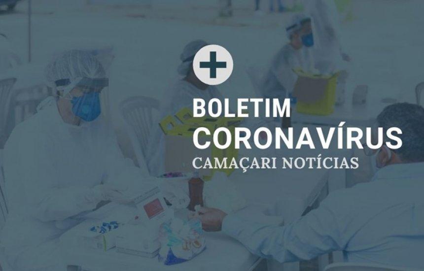 [Em 24h, apenas 3 casos de Covid-19 são registrados em Camaçari]